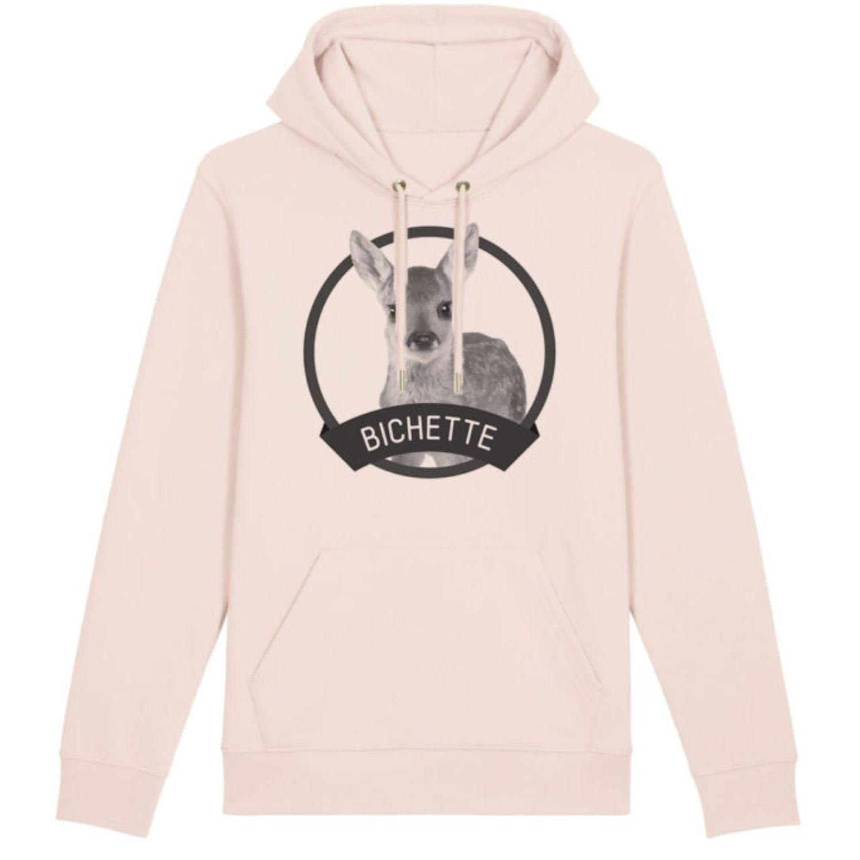 Sweatshirt capuche adulte - Bichette
