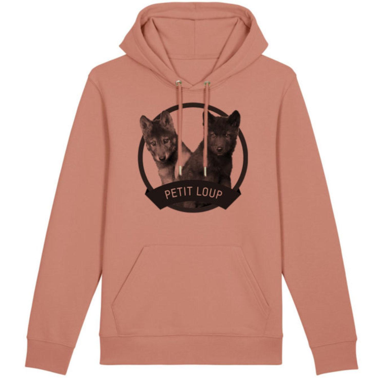 Sweatshirt capuche adulte - Petit loup