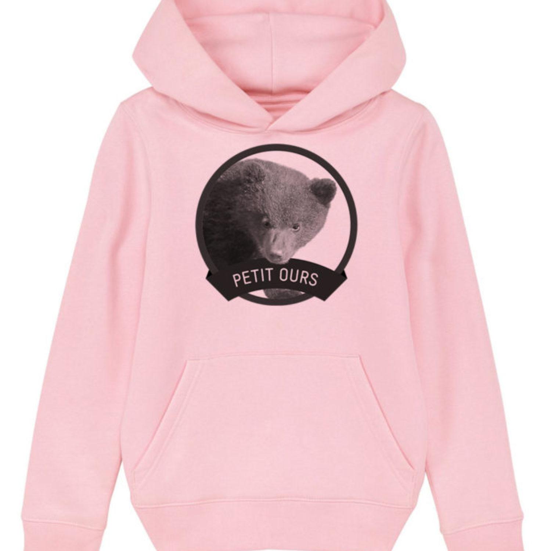 Sweatshirt capuche enfant - Petit ours