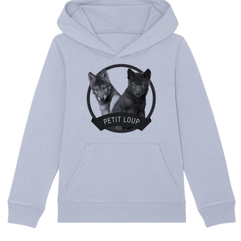Sweatshirt capuche enfant - Petit loup