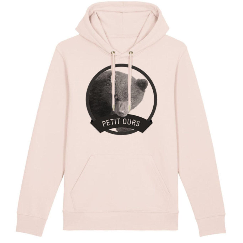 Sweatshirt capuche adulte - Petit ours