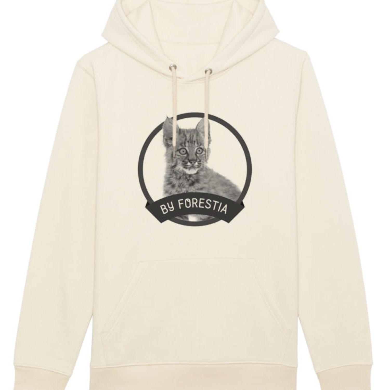 Sweatshirt capuche adulte - Bébé lynx