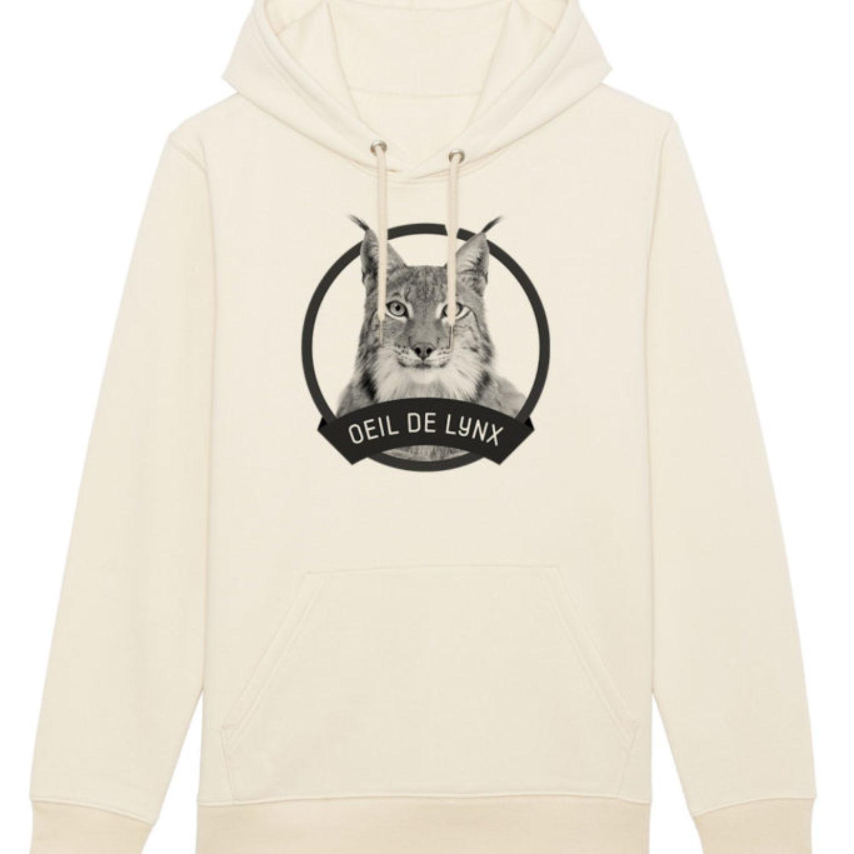 Sweatshirt capuche adulte - Œil de lynx