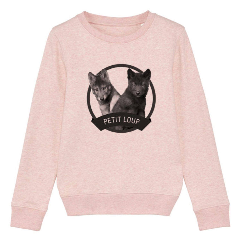 Sweatshirt Enfant - Petit loup