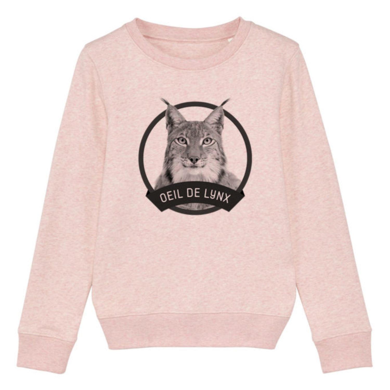 Sweatshirt Enfant - Œil de lynx