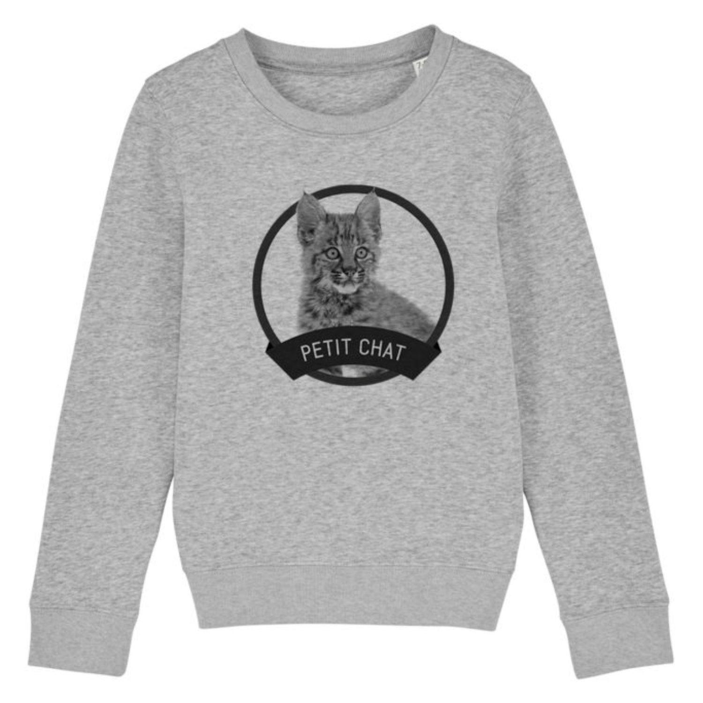Sweatshirt Enfant - Petit chat