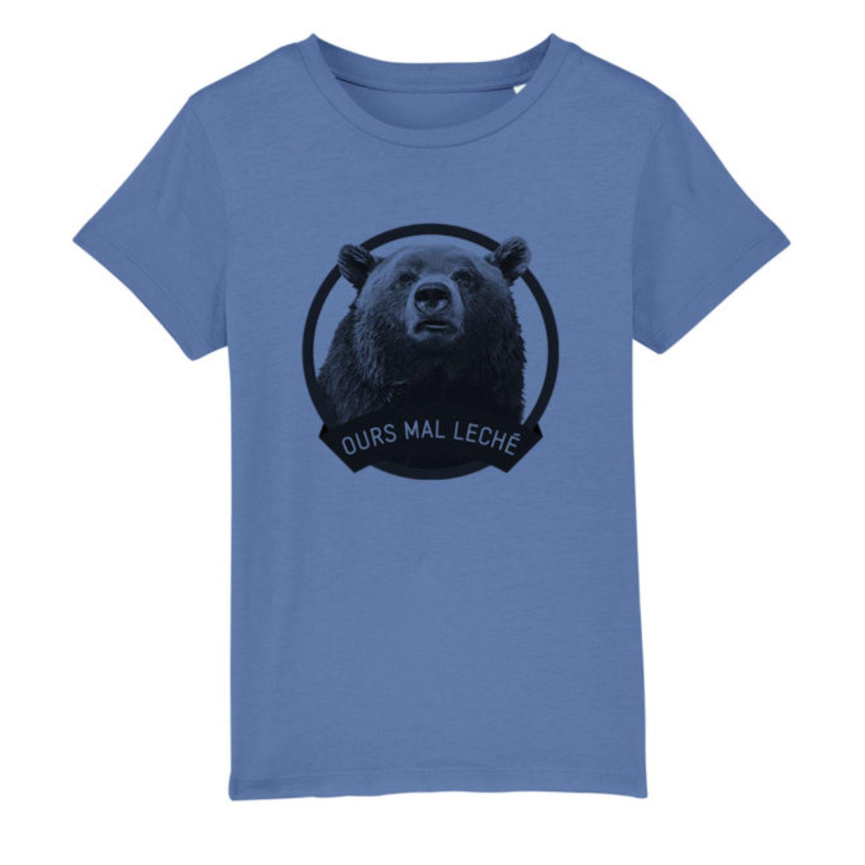 T-shirt enfant - Ours mal leché