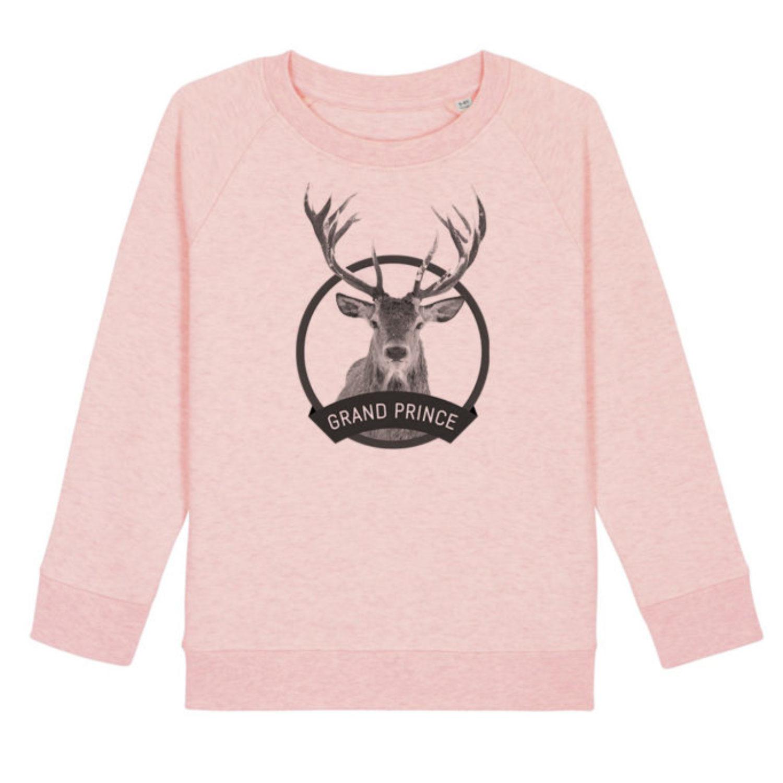 Sweatshirt Enfant - Grand prince