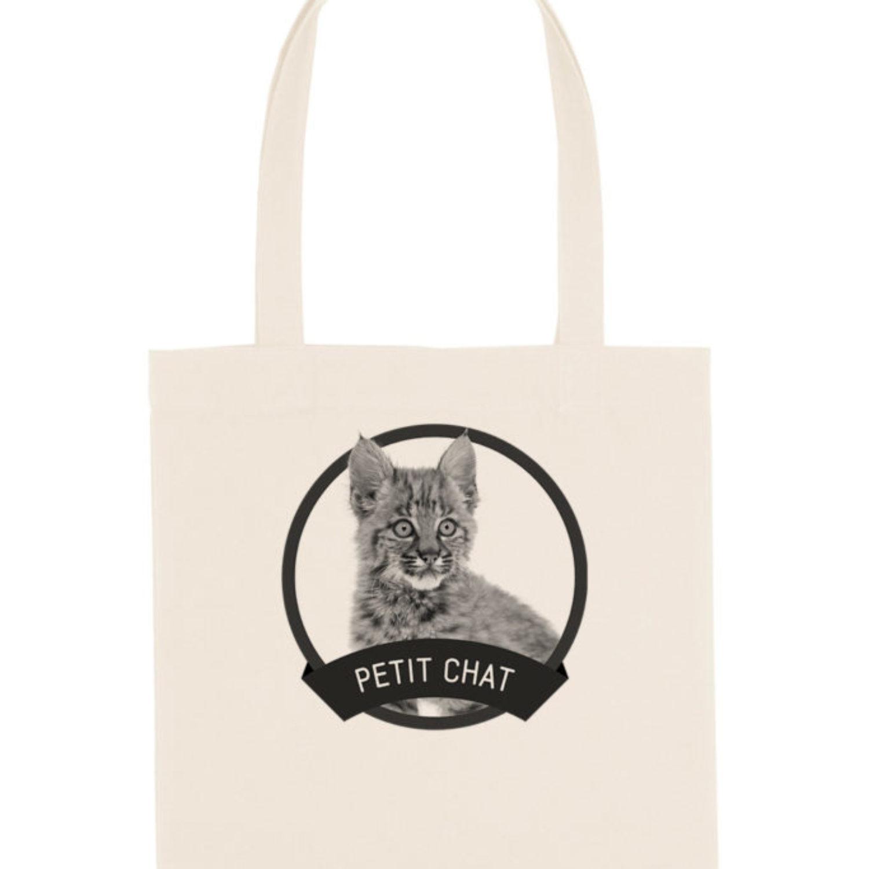 Tote-bag Petit chat