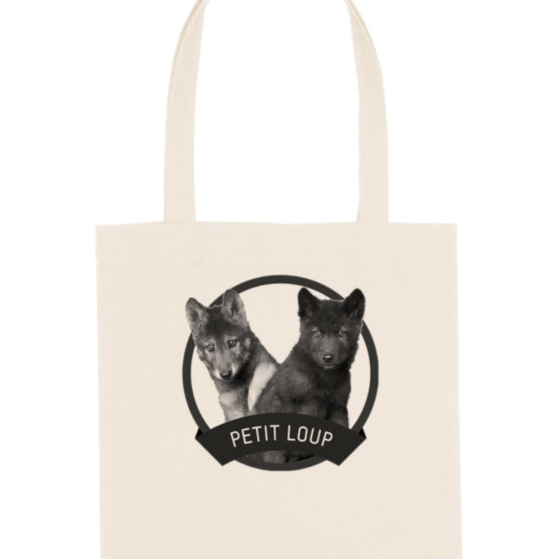Tote-bag Petit loup